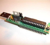 Communication between a USB/serial device and an AVR (atmega/Arduino) microcontroller