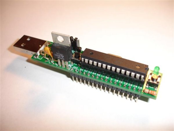 Communication between a USBserial device and an AVR (atmegaArduino) microcontroller