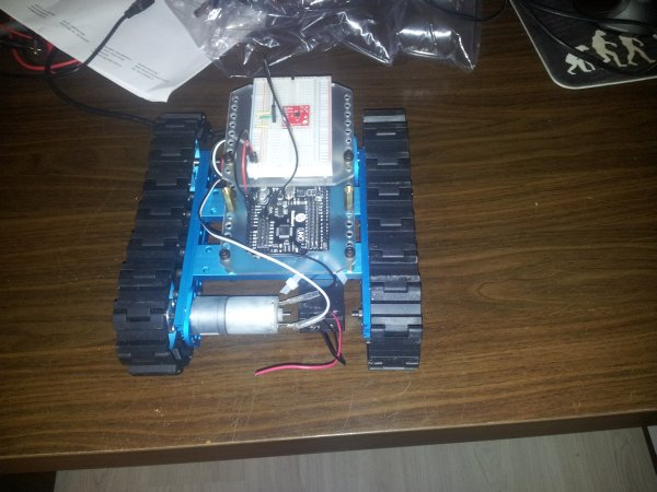 Connecting the ADXL337 to the Arduino