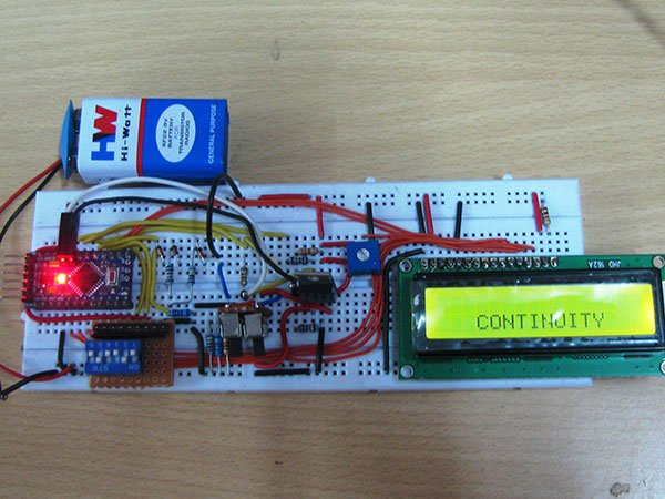 DIY Arduino Based Ohmmeter