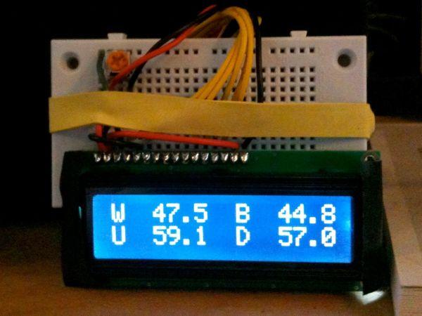 Displaying Arduino data