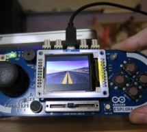 Fun With The Arduino Esplora: A Digital Picture Frame