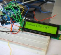 Getting Things to Talk: Arduino + LCDs