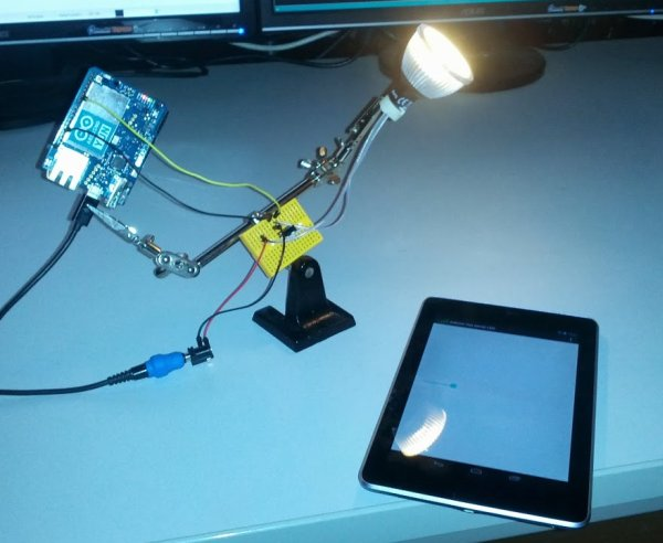 Home Automation with Android and Arduino Yún