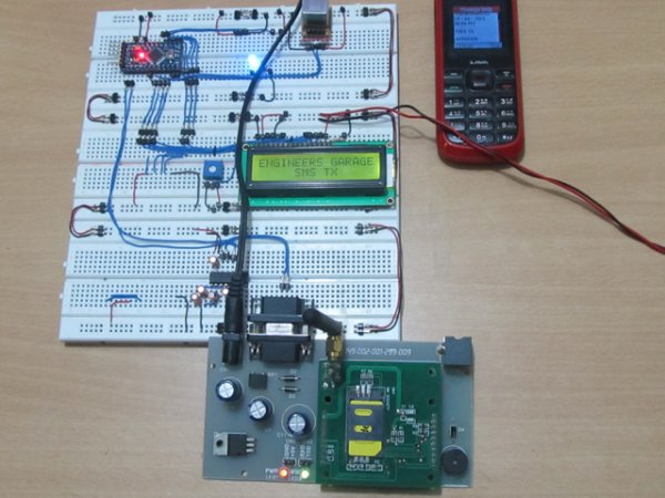 How to Send Message from GSM Module using Arduino