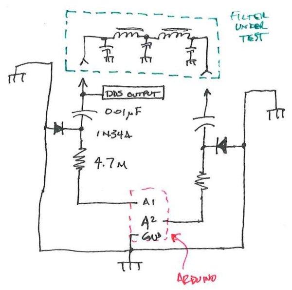 New Arduino Project Spectrum Analyzer Schematic