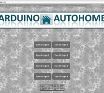 Open Source Home Automation Project using Arduino UNO + Ethernet Shield