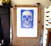 Polargraph Drawing Machine