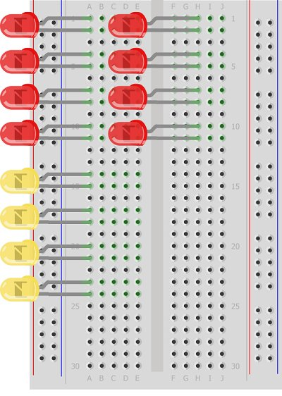 Simulating Logic Gates Schematic