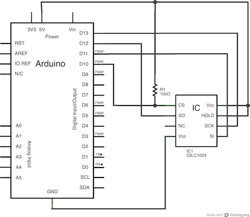 Stream support for the Arduino MQTT library Schematic