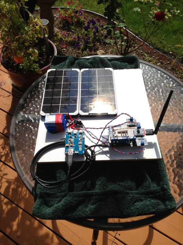 SunAir Solar Power Controller for Raspberry Pi and Arduino