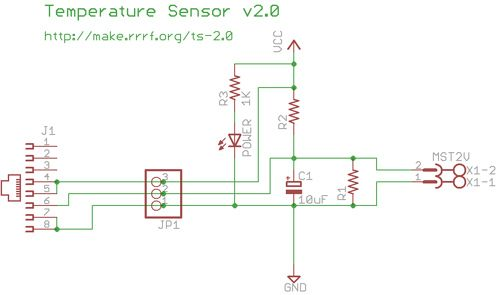 Temperature Sensor 2 0 Schematic