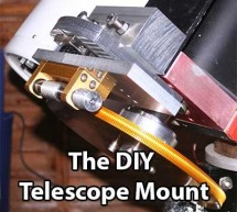 The DIY Arduino Telescope GOTO control project