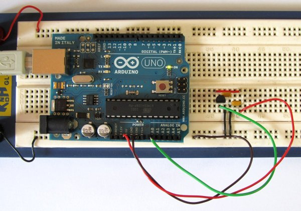 Tutorial 15 Arduino Serial Thermometer