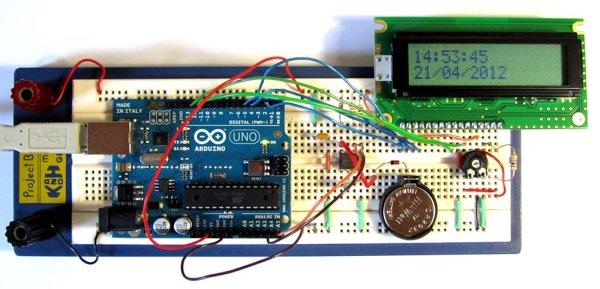 Tutorial 16 Arduino Clock