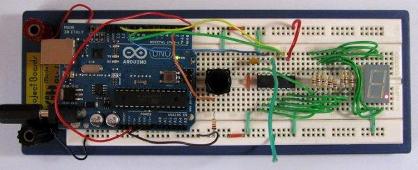 Tutorial 19 Arduino Dice