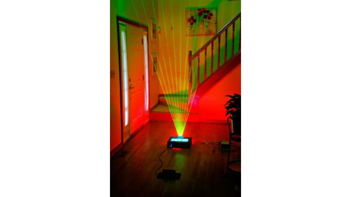Laser Harp
