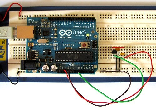 Arduino Serial Thermometer