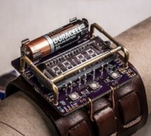 ChronodeVFD: A Cyberpunk Wristwatch