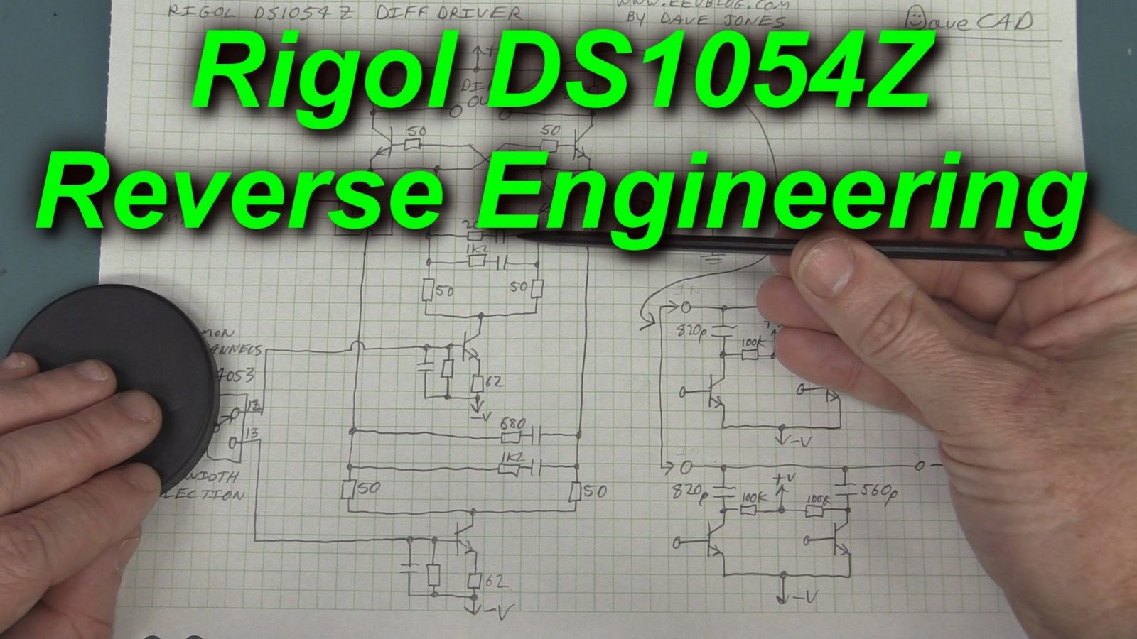 How To Reverse Engineer A Rigol Ds1054z Use Arduino For Projects Proteus Ic Lm741 Op Amp Operational Amplifier Circuit Youtube