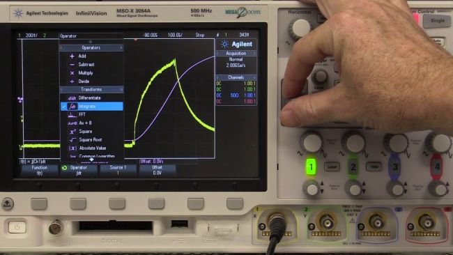 How & Why to use Integration on an Oscilloscope