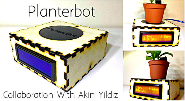 Planterbot - The Plant Monitoring Robot