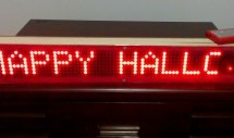 Portable Bluetooth-enabled scrolling LED matrix display- Part 1