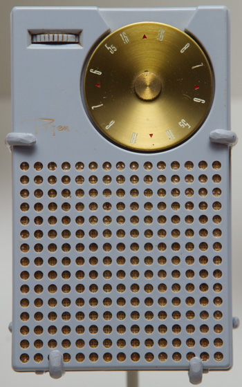 TI announces 1st transistor radio, October 18, 1954