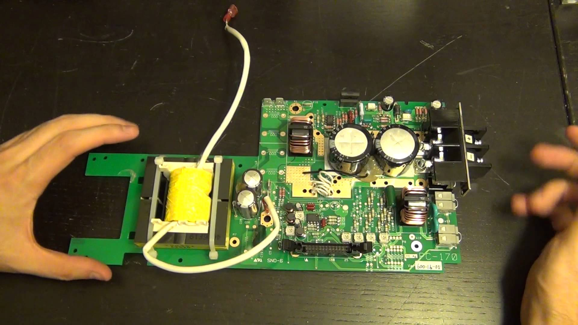 Teardown and Repair of an Agilent 33250A Function and Arbitrary Waveform Generator