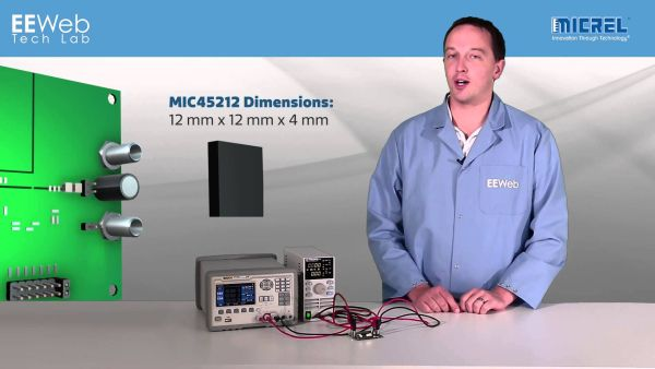 Tech Lab – Micrel MIC45212 Evaluation Board