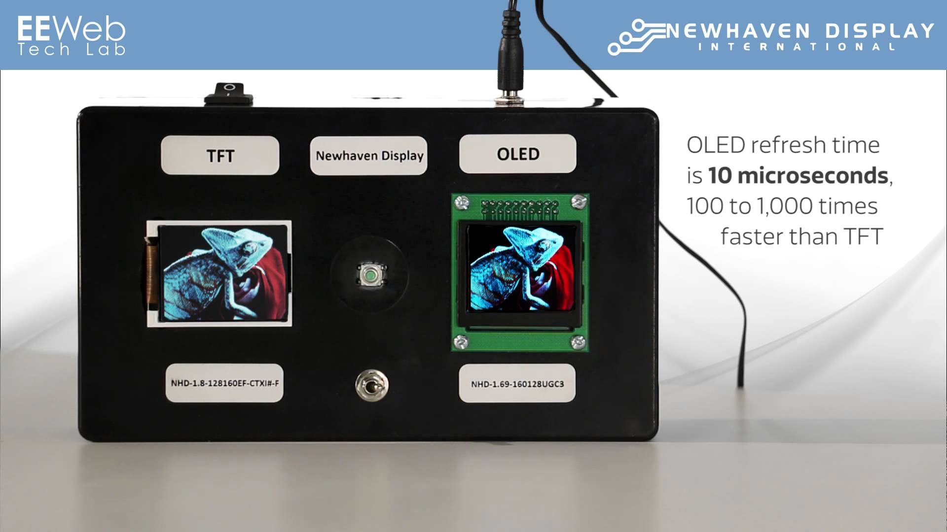 Tech Lab – Newhaven Full Color OLED Displays