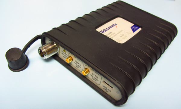 Review: Tektronix RSA306 spectrum analyzer (part 1)
