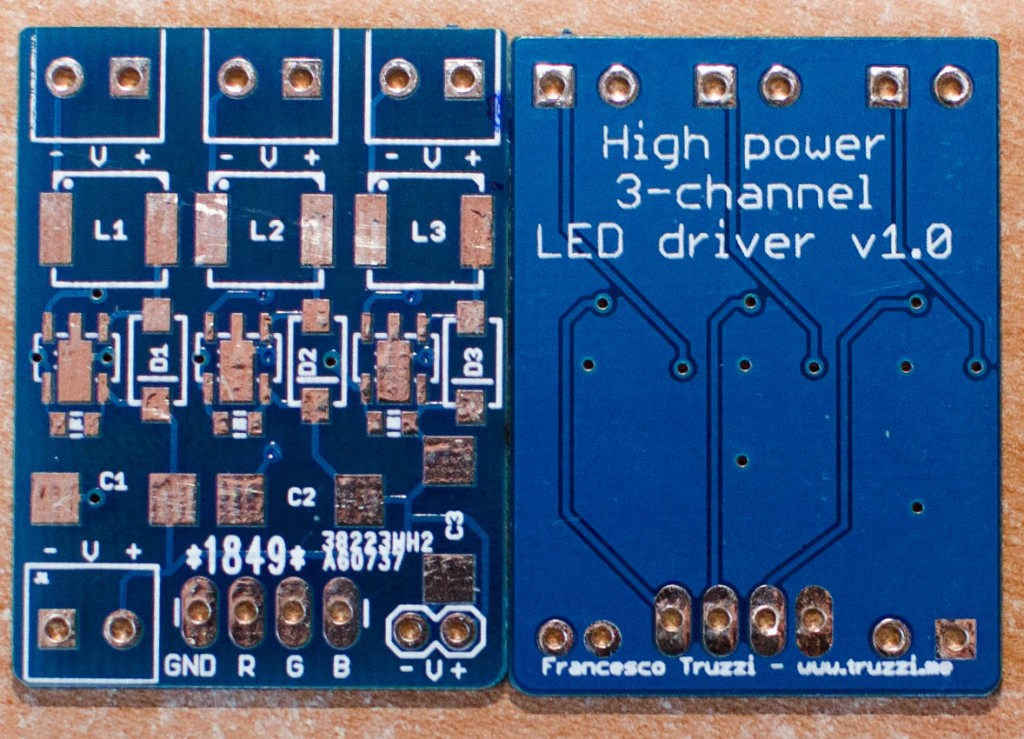 Building a 3-channel, high power RGB LED driver