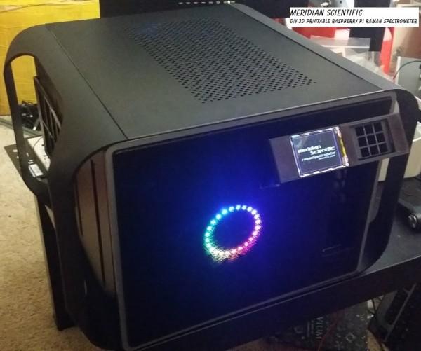 ramanPi – Raman Spectrometer