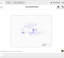 MAX5825PMB1 Peripheral Module Board