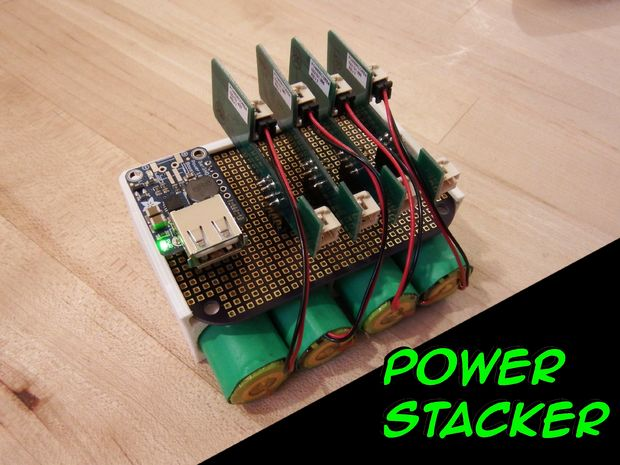 Power Stacker Stackable USB Rechargeable Battery System