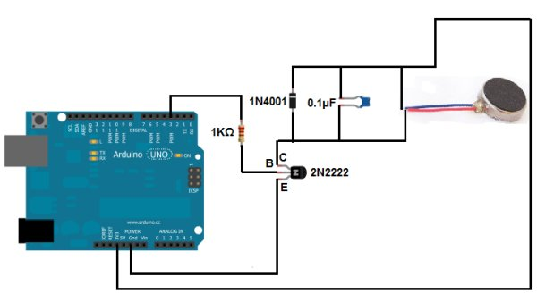 How to Build a Vibration Motor Circuit