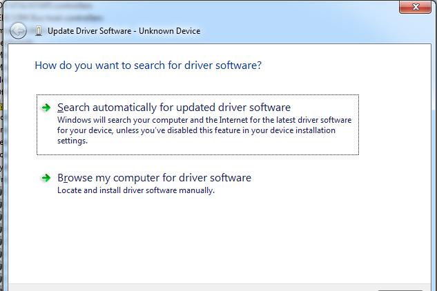Windows 7, Vista, and XP settings
