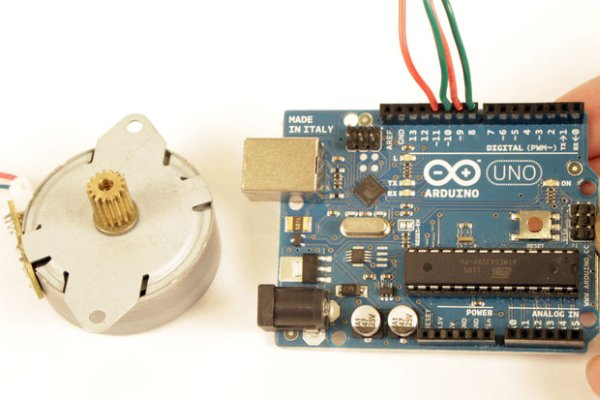 Stepper Motor control with Arduino