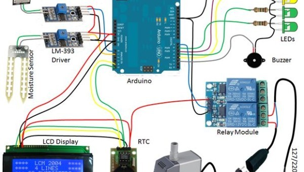 Arduino Automatic Watering System