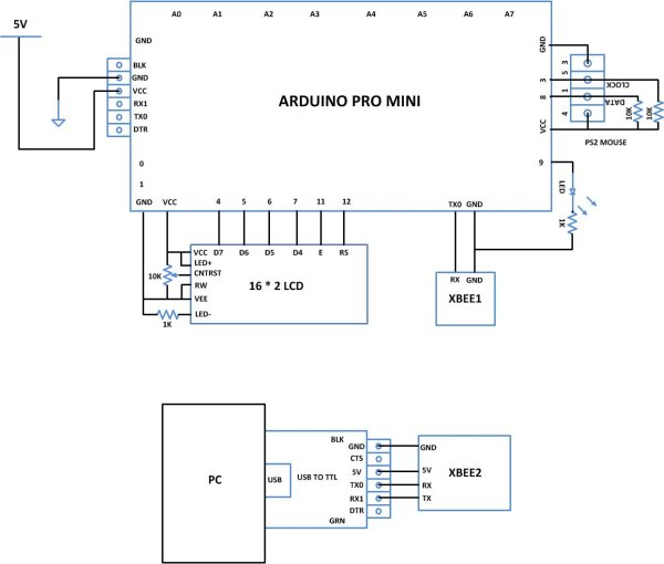 How To Save a Text In The EEPROM of The Arduino Schematic