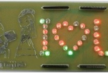 Design a romantic PCB using a free PCB design tool – EasyEDA