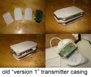 Version 1's Build Log casing