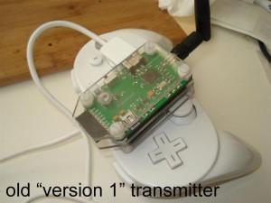 Version 1's Build Log old transmitter