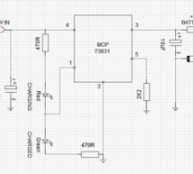 3.7V Li-Ion Battery Charger Circuit