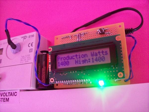 A basic Arduino Solar PV Monitor.