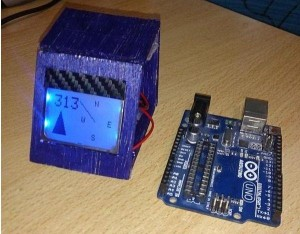 Arduino Digital Magnetic Compass