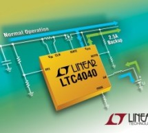 LTC4040 – 2.5A Battery Backup Power Manager