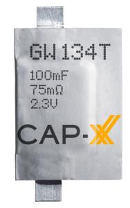 CAP-XX launches 0.6mm Thinline supercapacitors