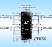 LTC3371 – 4-Channel 8A Configurable Buck DC/DCs with Watchdog and Power-On Reset